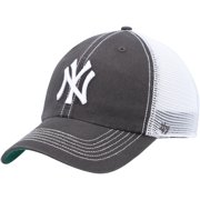New York Yankees '47 Trawler Clean Up Trucker Snapback Hat - Graphite/White - OSFA