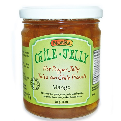 Hot Pepper Jelly by Norka Chile Jelly - Mango