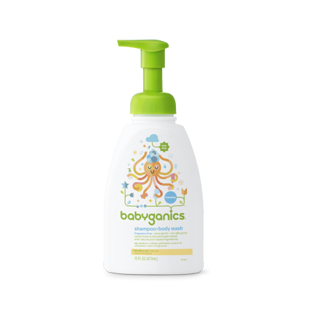 Babyganics Tub - Babyganics Extra Gentle Shampoo + Body Wash Chamomile Verbena, 16.0 FL OZ