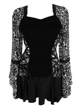 Dare To Wear Victorian Gothic Boho Women's Plus Size Bolero Corset Top S - 5x