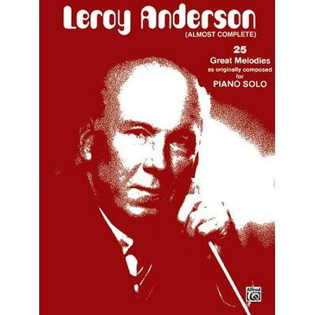 Leroy Anderson (Almost Complete) : Original Piano Solos