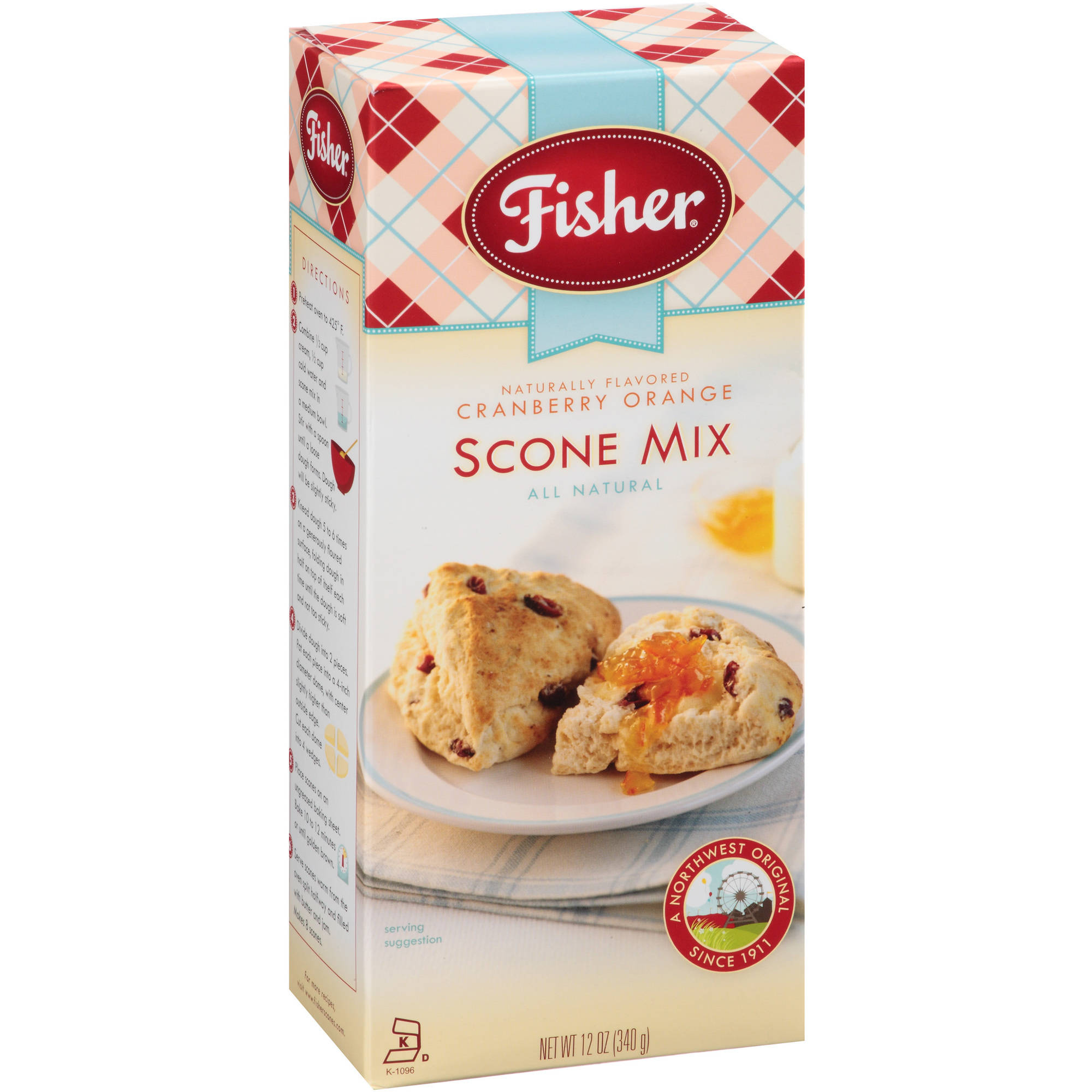 Conifer Specialties Fishers  Fair Scone Mix, 12 oz