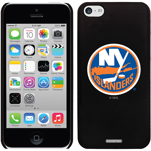 New York Islanders Primary Logo Design on iPhone 5c Thinshield Snap-On Case by Coveroo