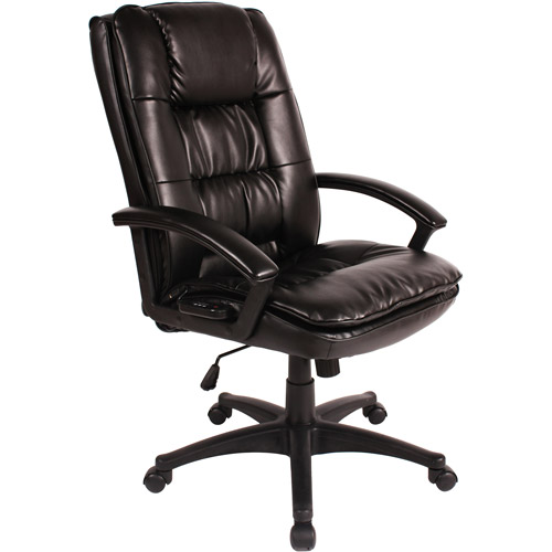 Comfort Products Executive Chair with 5-Motor Massage, Black