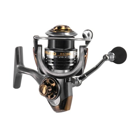 Spinning Fishing Reel 5+1 Ball Bearings Spinning Reels With Interchangeable Left/Right Hand - image 1 of 7