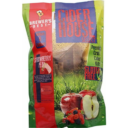 Gluten Free Cider House Select Strawberry Pear Cider Kit