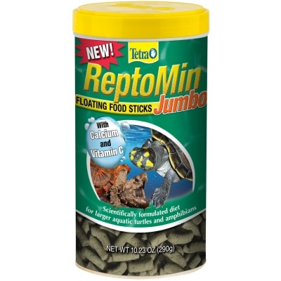 Tetra ReptoMin Jumbo Sticks for Turtles, 10.23-Ounce
