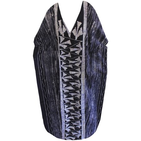 bc502c9ec79 LA LEELA - La Leela Batik Womens Cotton Caftan Nighty Swimwear Batik Kaftan  Maxi Dress Fathers Day Gifts Spring Summer 2017 - Walmart.com