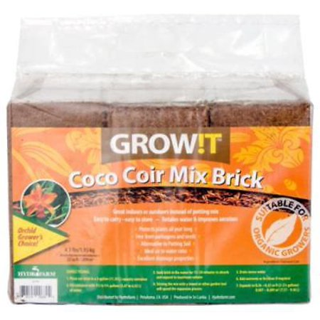 Coco Coir Mix Brick Supports Your Plants All Year Long Retain Water Ma