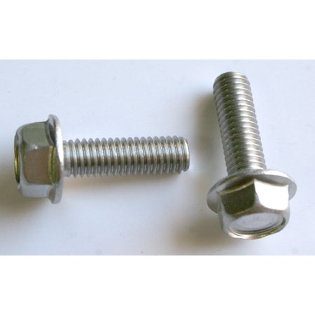 - 25 M 6 - 1.0 x 20mm A2-70 Stainless Hex Flange Bolts