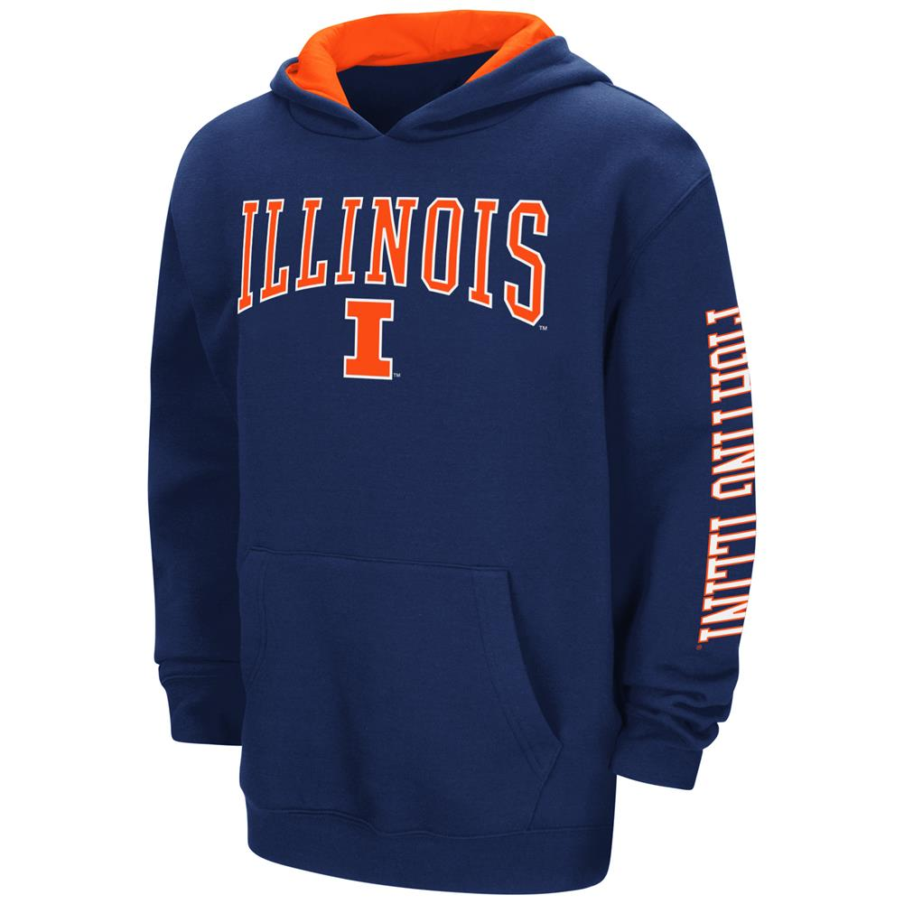 Youth Zone Pullover University of Illinois Hoodie