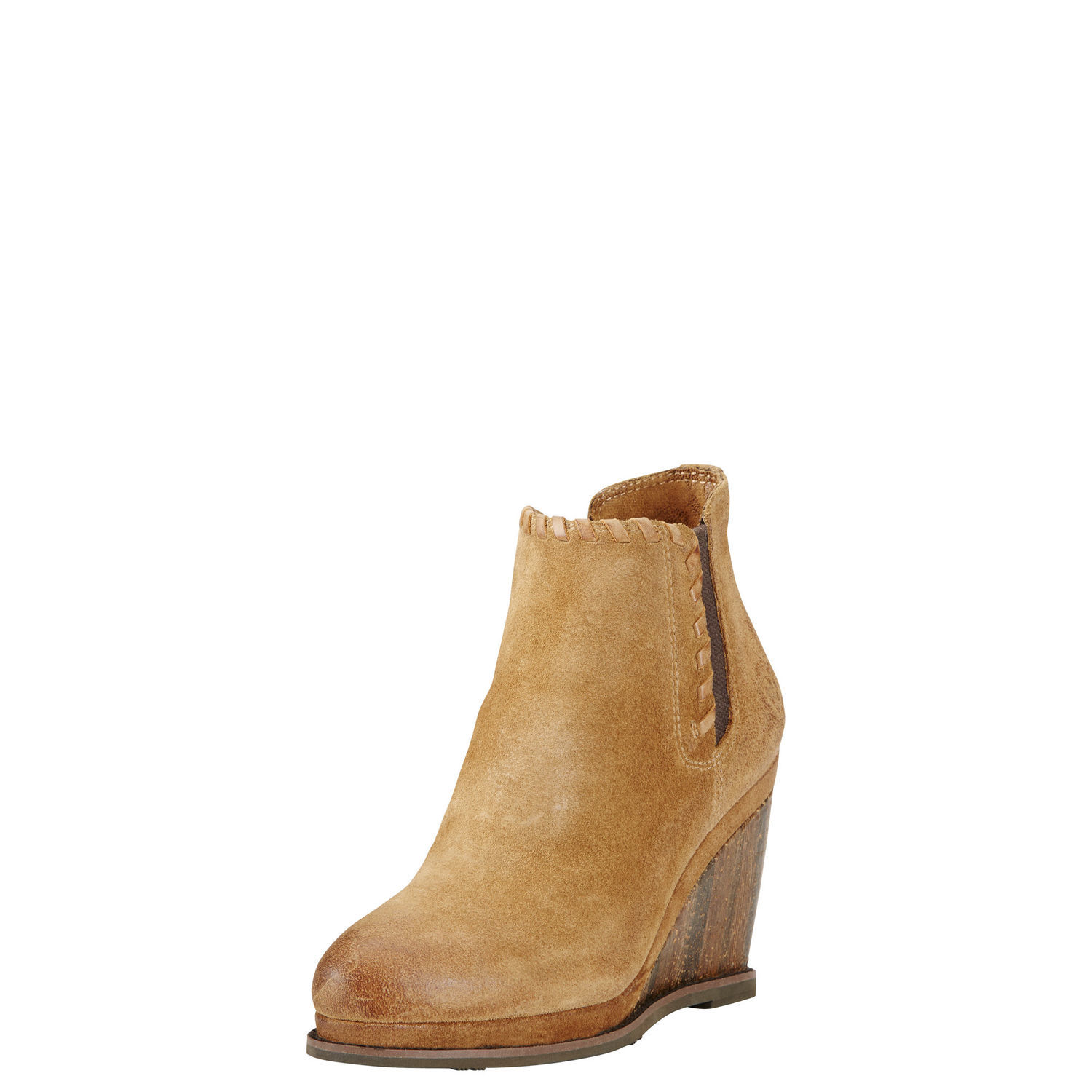 Ariat Belle Round Toe Leather Ankle Boot by Ariat
