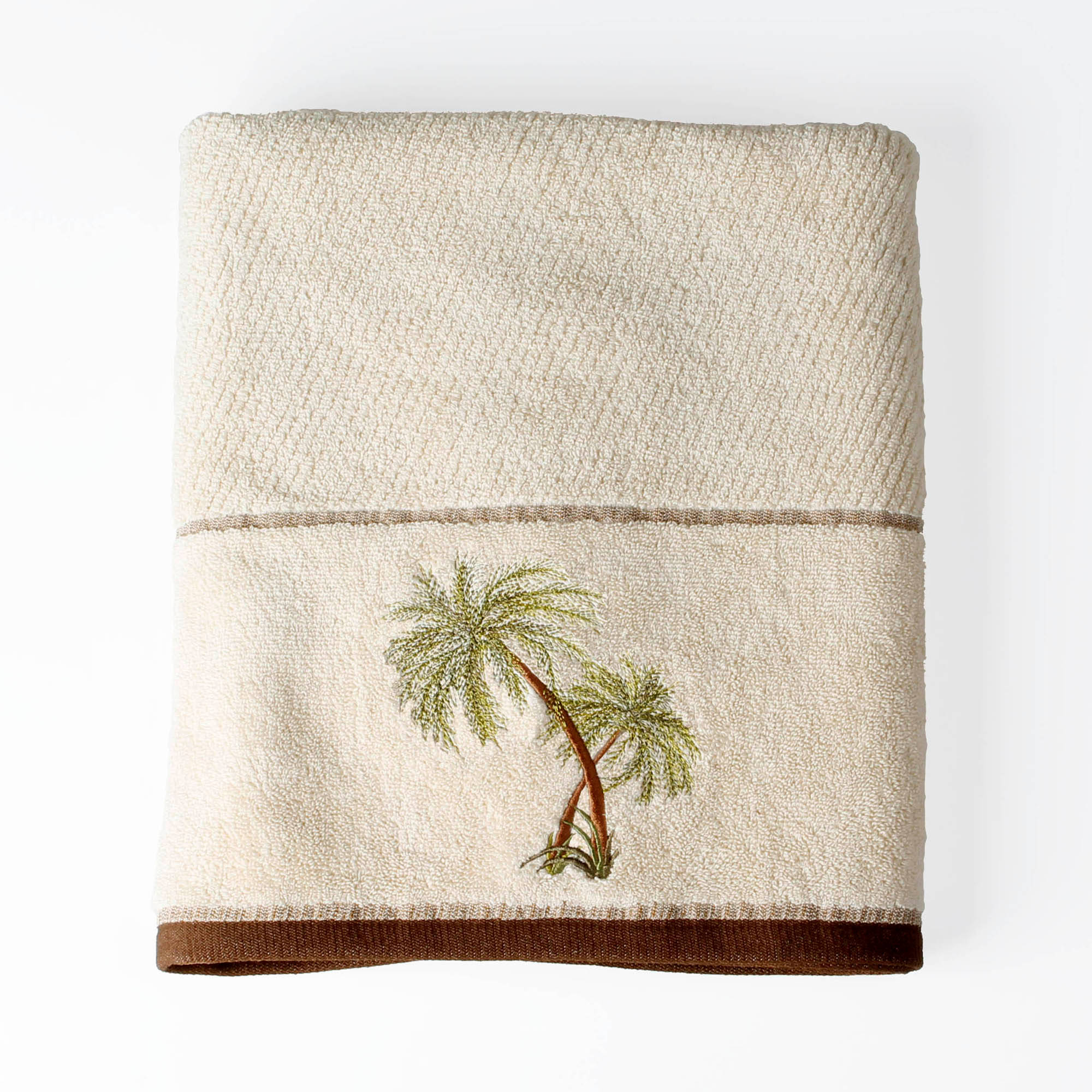 Better Homes and Gardens Palm Cove Bath Towel Collection by Saturday Knight LTD