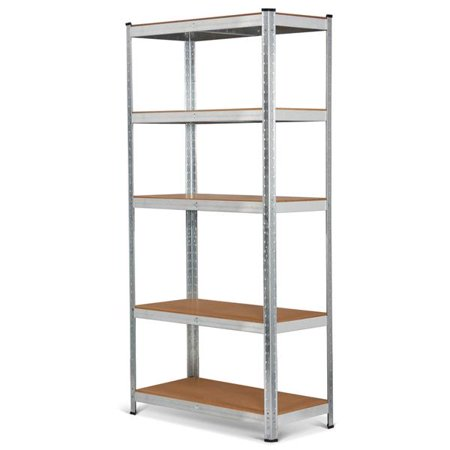 Home Organization Yaheetech 3 Pack Heavy Duty 5-shelf Commercial Industrial Office Storage Rack Other Home Organization
