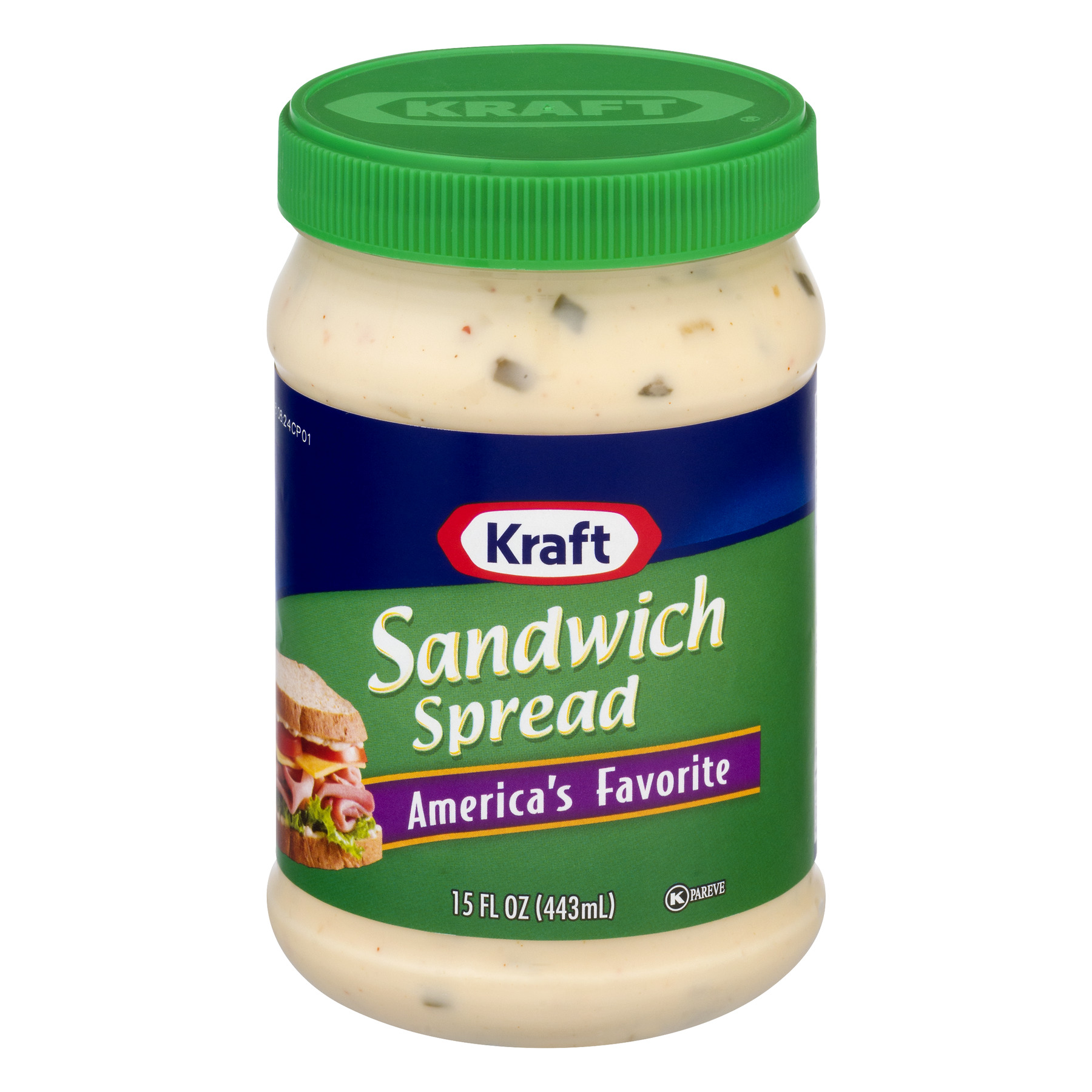 Kraft Sandwich Spread, 15.0 Fl Oz (3 Pack)