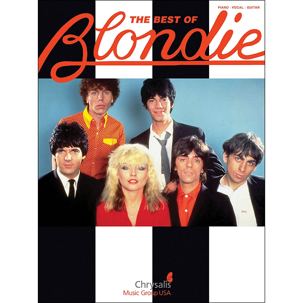Hal Leonard The Best Of Blondie arranged for piano, vocal, and guitar (P/V/G)