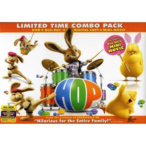 Hop (DVD + Blu-ray) (With Mini-Movie) (Widescreen)