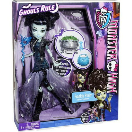 monster high ghouls rule frankie stein doll](Monster High Ghouls Rule Halloween Dolls)