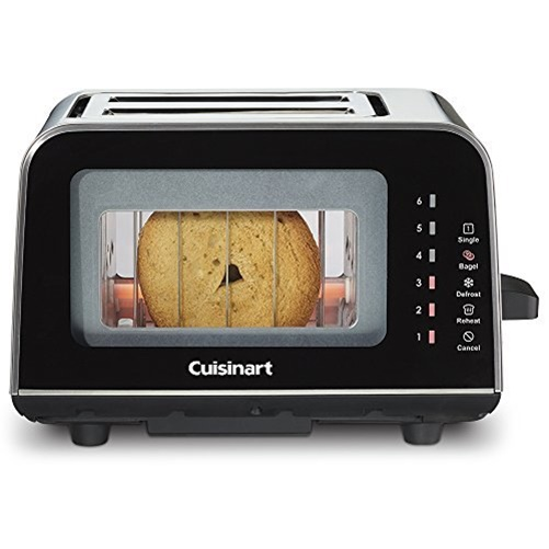 Cuisinart ViewPro Glass 2-Slice Toaster CPT-3000