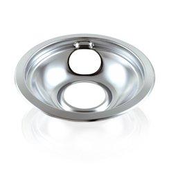 "Range Top 6"" Drip Pan for Whirlpool, Sears, AP6016815, PS11750108, WPW10196406"