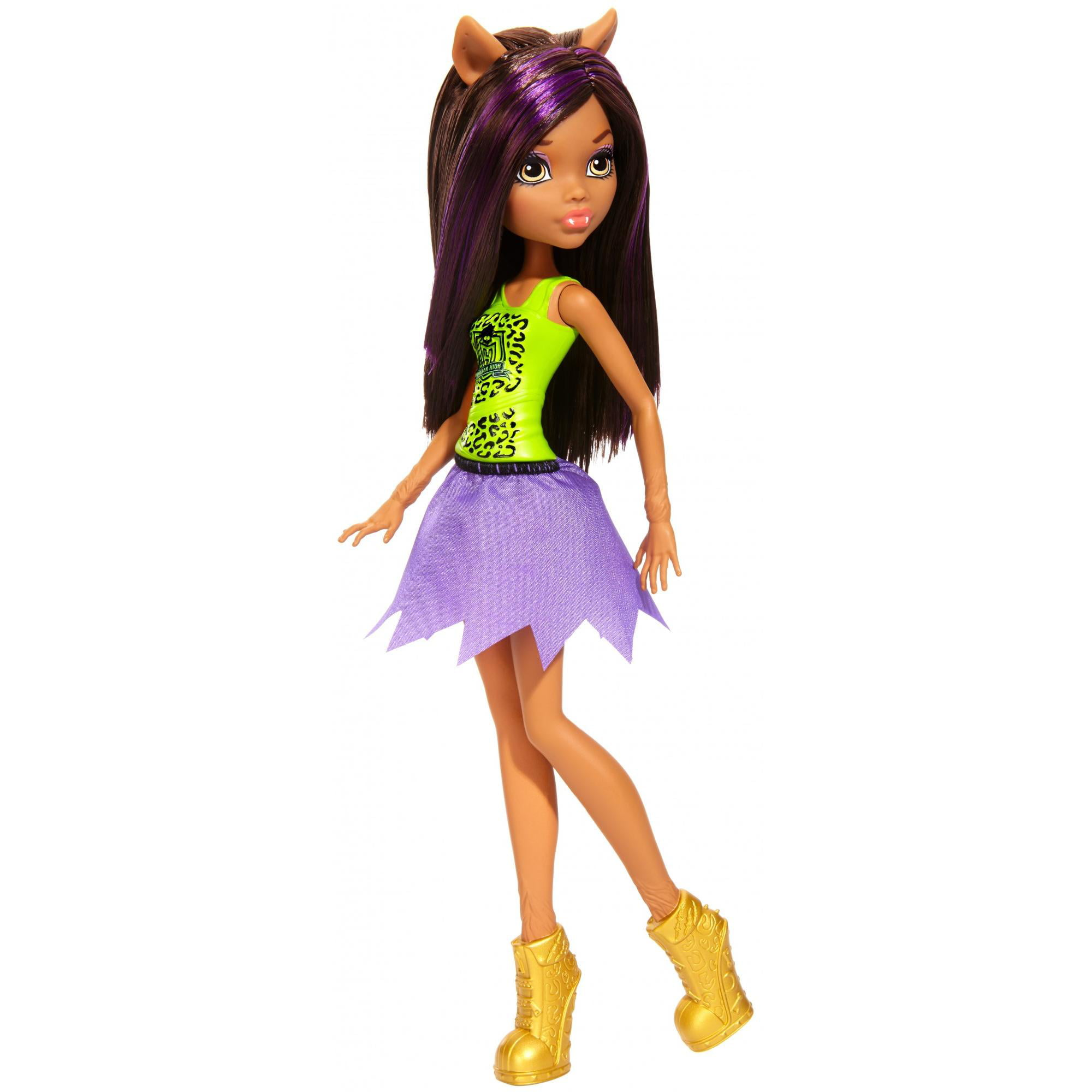 Monster High Cheerleader Clawdeen Wolf Doll by MATTEL INC.