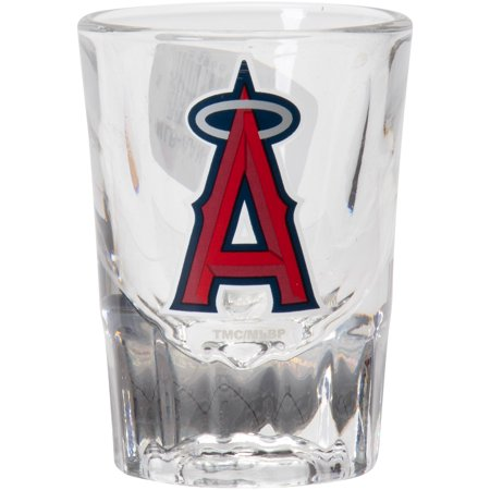 Los Angeles Angels 2oz. Fluted Collector Shot Glass - No Size](Customized Shot Glasses Cheap No Minimum)