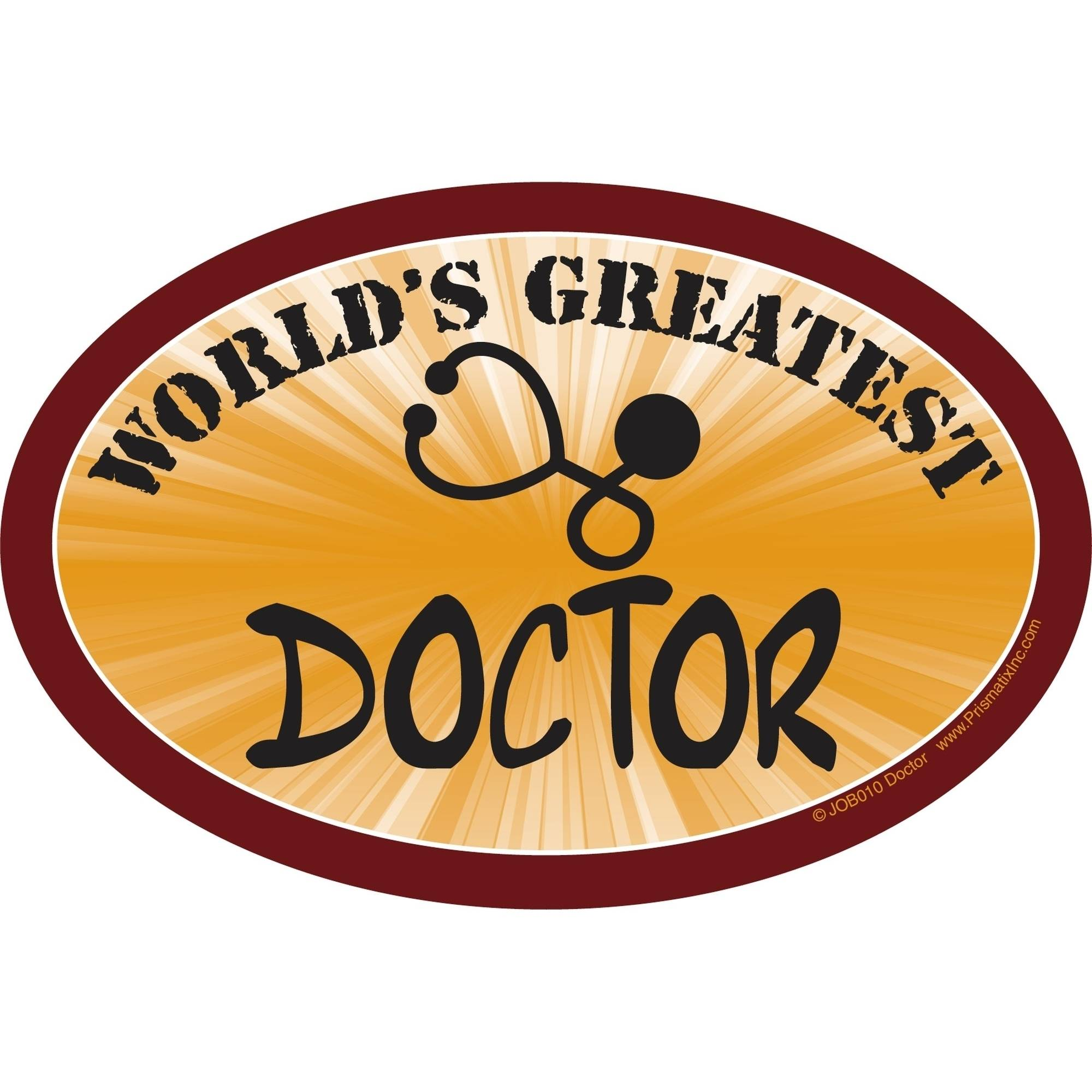 Prismatix World's Greatest Doctor Magnet