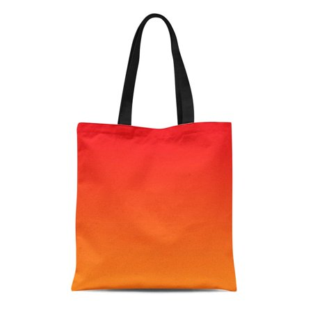 KDAGR Canvas Tote Bag Patio Red and Orange Chair Custom Homedecor Accessories Outside Reusable Handbag Shoulder Grocery Shopping (Custom Bag Chairs)