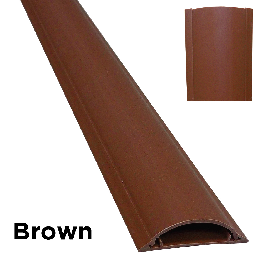 Cable Shield Cord Cover Protector Floor - Color : Wood Grain ...