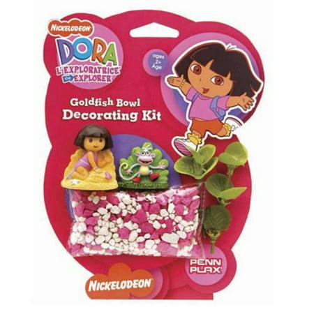 - Dora the Explorer Goldfish Aquarium Decorating Kit