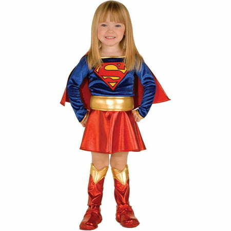 Supergirl Toddler Halloween Costume - Supergirl Pink Toddler Halloween Costume