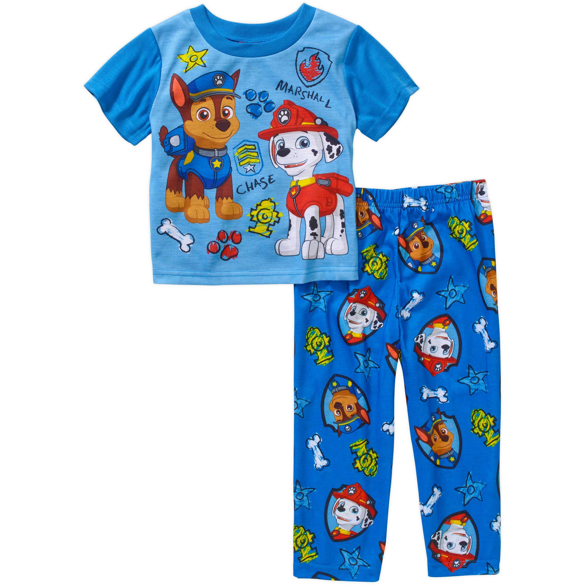 Paw Patrol Toddler Boy Short Sleeve Pajama Sleepwear Set