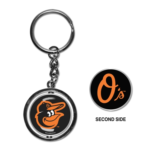 Baltimore Orioles Spinner Key Ring - No Size