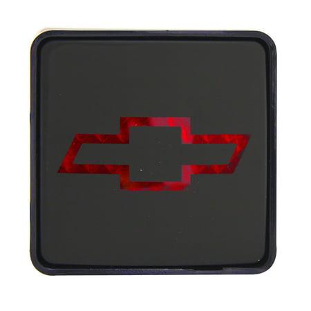 PILOT BULLY # CR007C Hitch Accessories: Hitch Brake Light Plug; Chevrolet Logo (Bully Hitch Cover Brake Light)