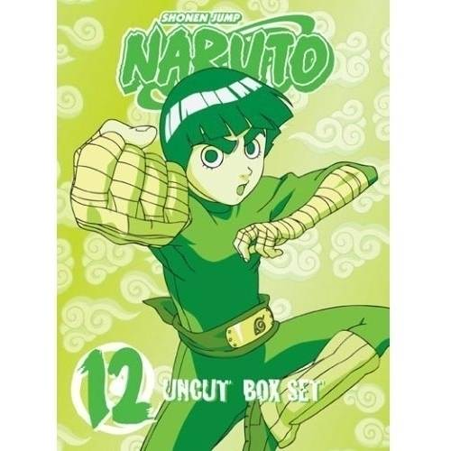 Naruto Uncut Box Set 12 (Special Limited Edition) (DVD + Playing Cards + Rock Lee Figurine) (Full Frame, LIMITED)