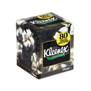 Kimberly-Clark Professional Kleenex Lotion Facial 3-Ply Tissue - 75 Sheets per Box (Set of 2)