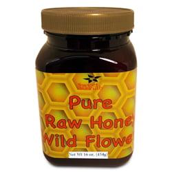 Raw Wild Flower Honey 16 oz. ()
