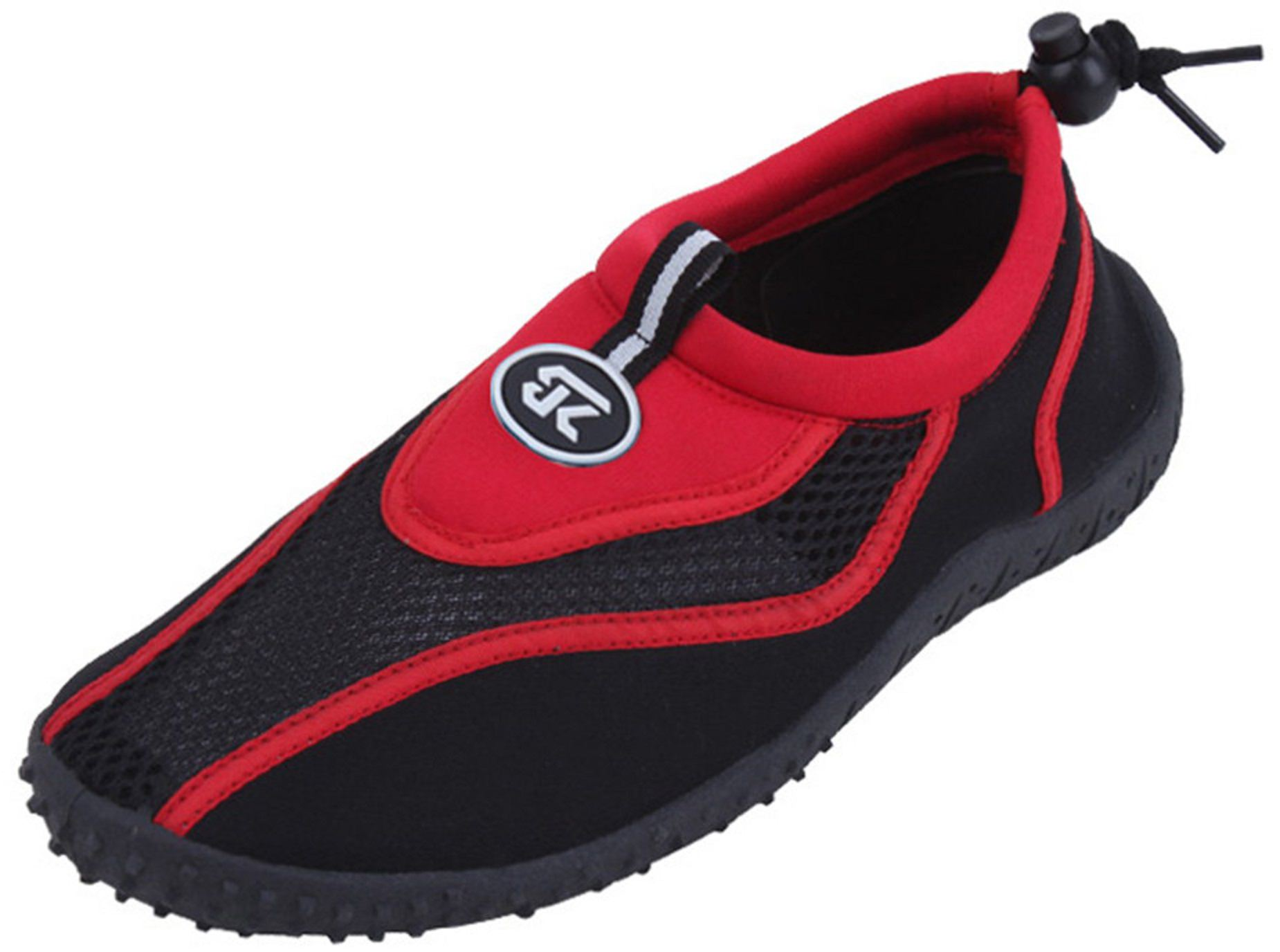New Women's Athletic Water Shoes Pool Beach Aqua Socks Shoes (2907-Red-11) by SBG