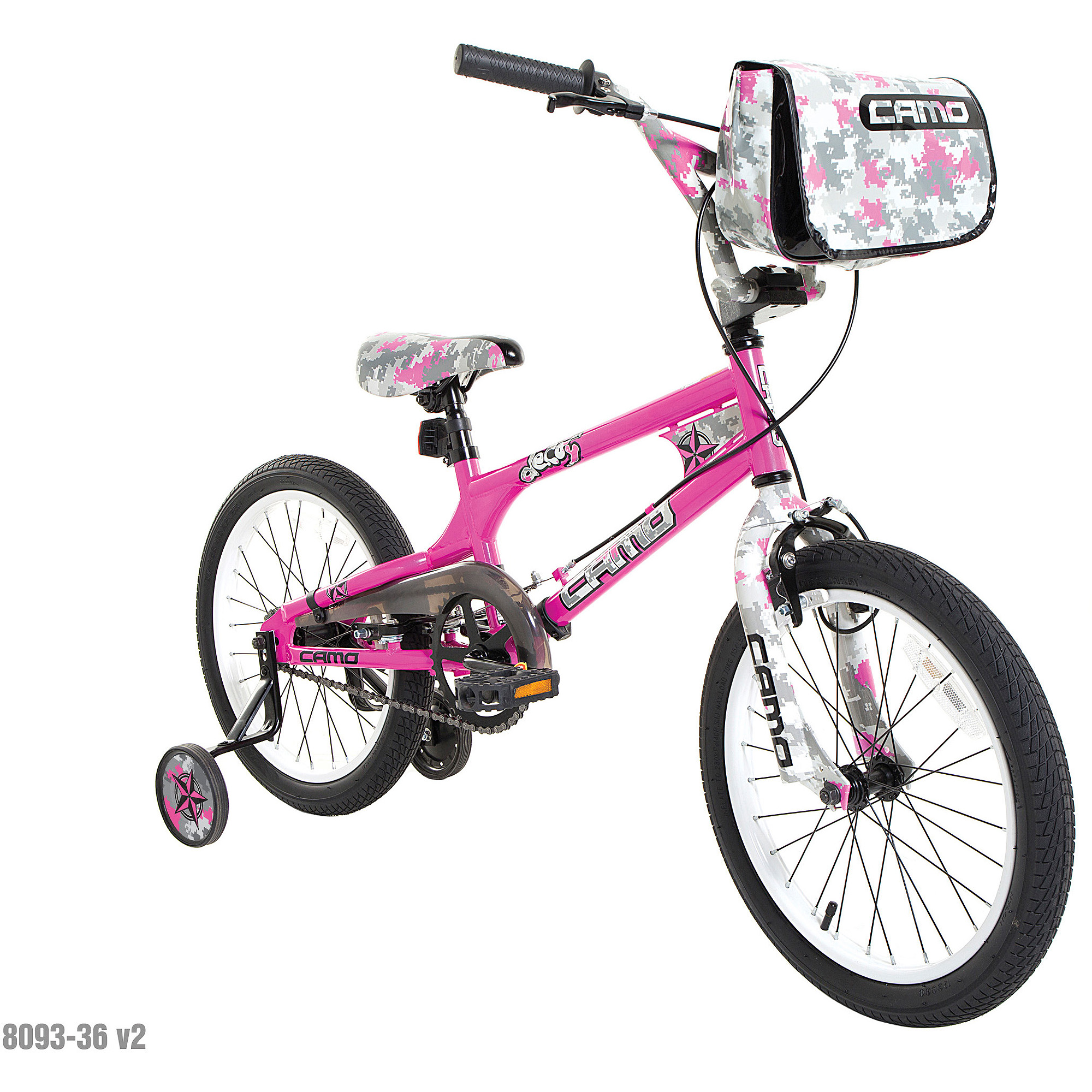 "18"" Camo Decoy Girls' Bike"