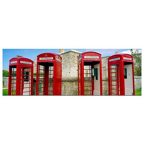 "Trademark Art ""Bermuda Telephone"" Canvas Art by Preston"