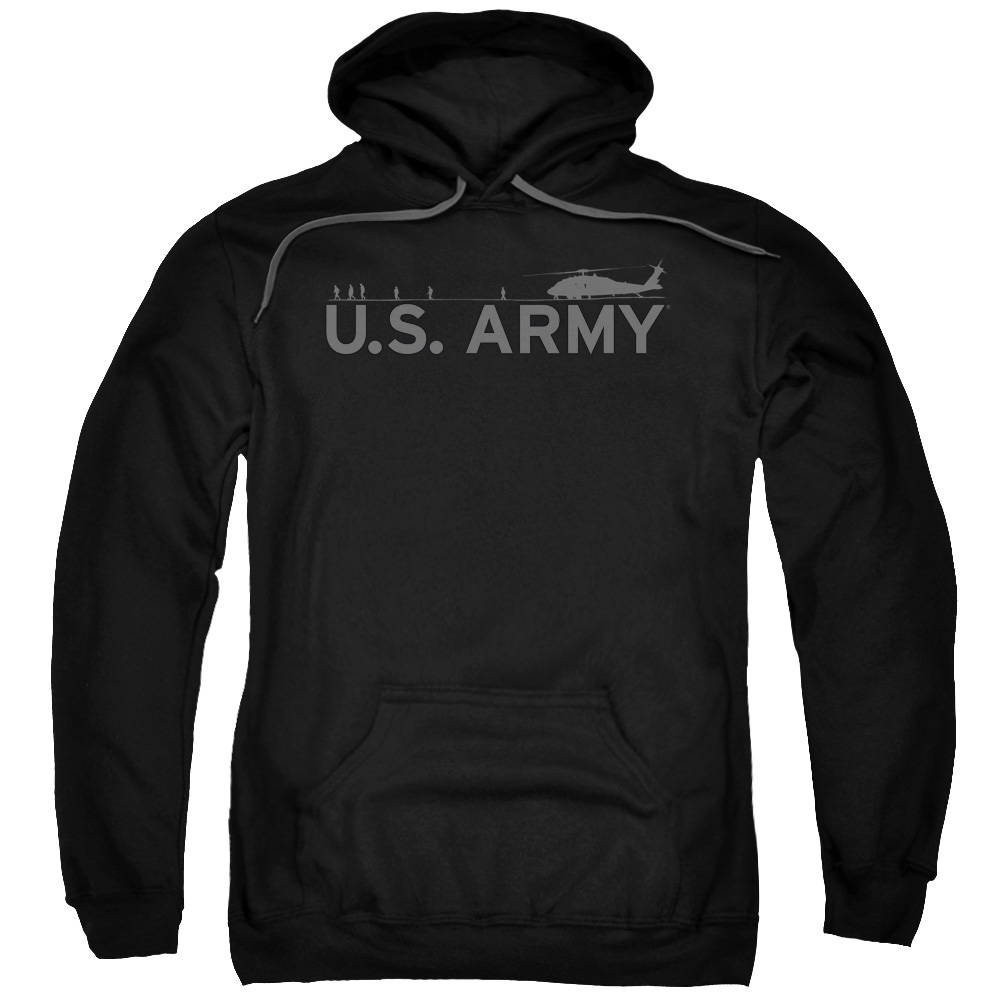 Army Helicopter Mens Pullover Hoodie