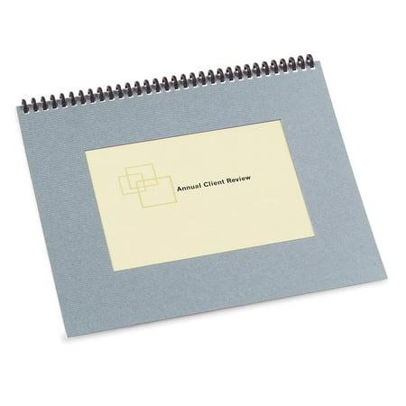 Textured Heavy-duty Binding Covers w/ -