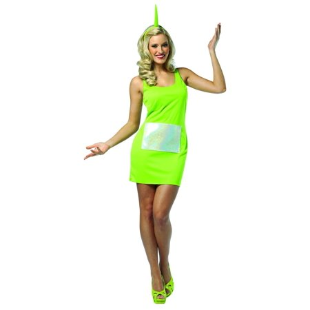 teletubbies dipsy green tank mini dress costume adult