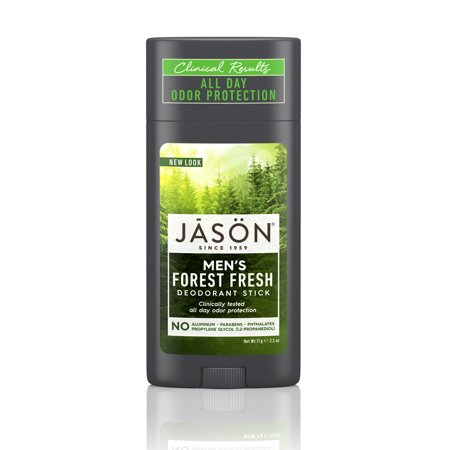 JASON Men Forest Fresh Roll-On Deodorant Stick, 2.5 oz. (Packaging May