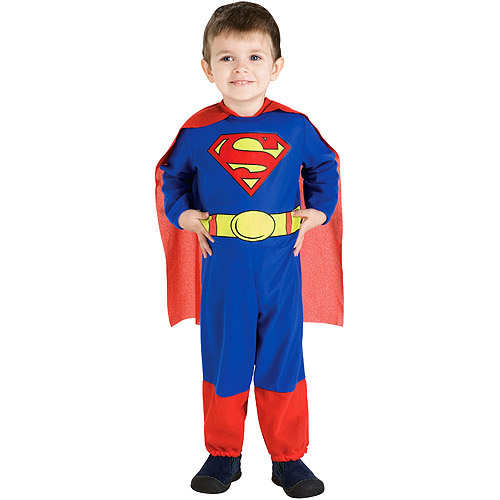 Halloween Superman Toddler Costume