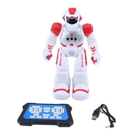 WALFRONT 2Colors Kid Remote Control Intelligent Robot Gesture Sensor Singing Dancing Educational Toy , Intelligent Robot, Educational Robot Toy