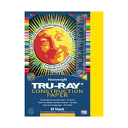 "Pacon Tru-Ray Construction Paper, 9"" x 12"", Black"