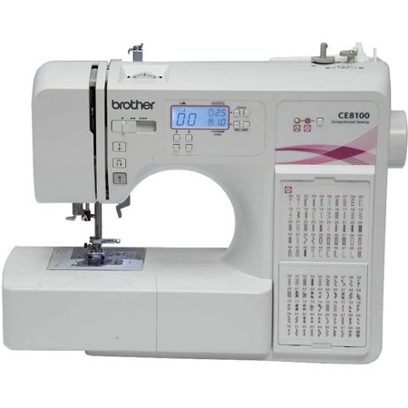 Brother ce8100 120 stitch computerized home decor sewing for Best home decor sewing machine