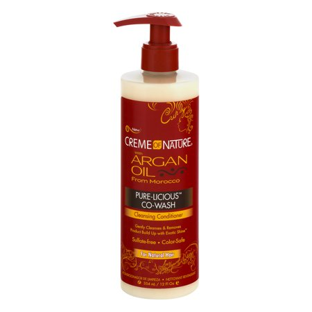 Creme Of Nature Pure Licious Co Wash Cleansing Conditioner  12 Fl Oz