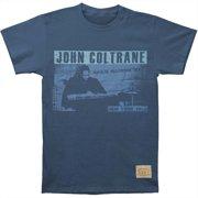 John Coltrane Men's  Playback Vintage T-shirt Navy